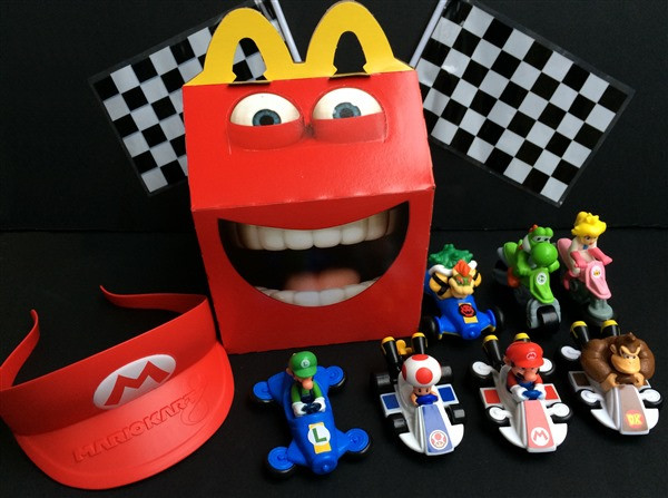 Review: McDonald's Mario Kart 8 Happy Meal Toys