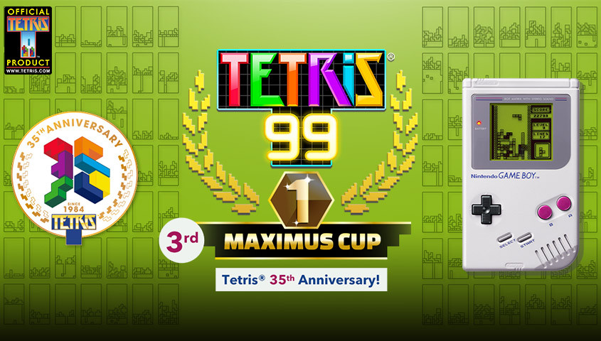 Tetris 99 Gets DLC and 3rd Maximus Cup