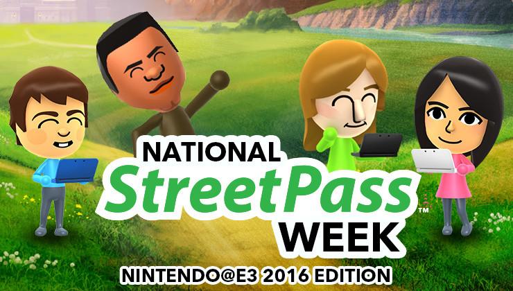National StreetPass Week: Nintendo E3 2016 Edition