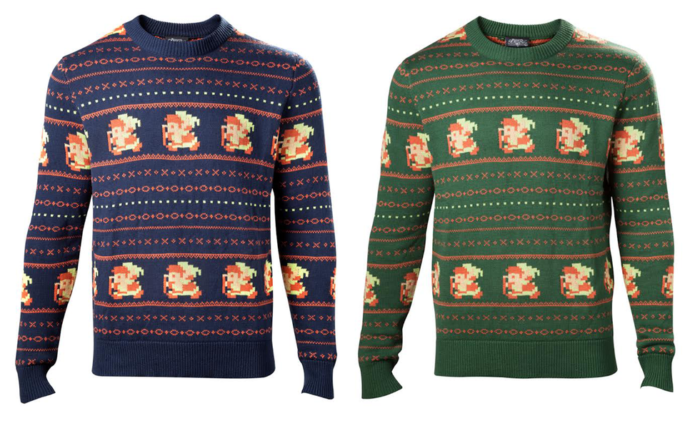 A New Official Legend Of Zelda Christmas Sweater Is Now Available For Pre-Order