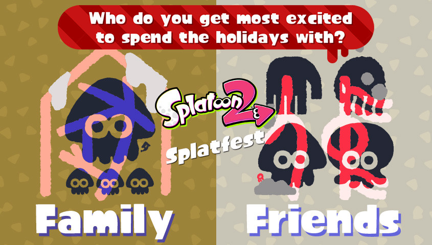 Celebrate The Holidays With a Winter-Themed Splatfest