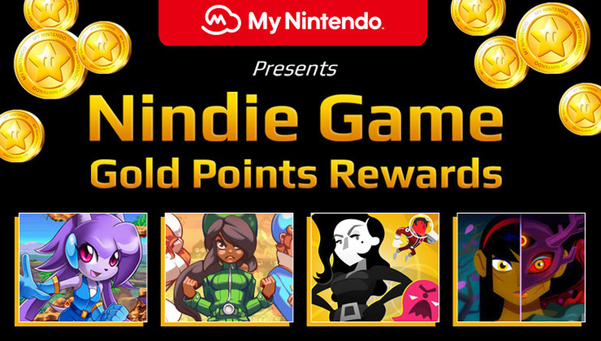 Get These Nindies With Gold Points | My Nintendo