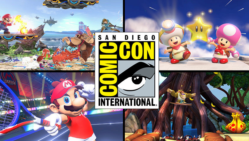 Nintendo @San Diego Comic-Con 2018