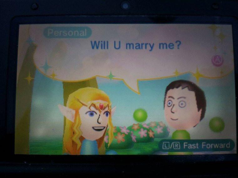 A Marriage Proposal Via StreetPass