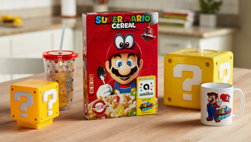 New Super Mario Cereal Box Works As Amiibo