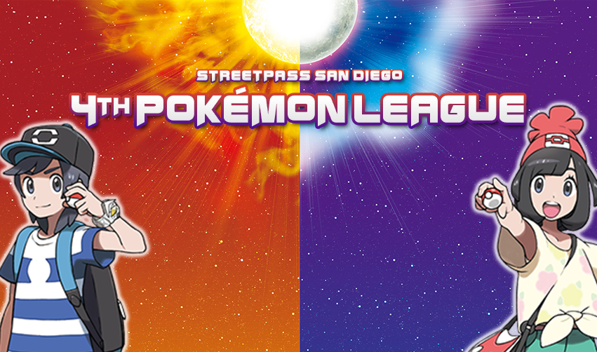 StreetPass San Diego 4th Pokémon League