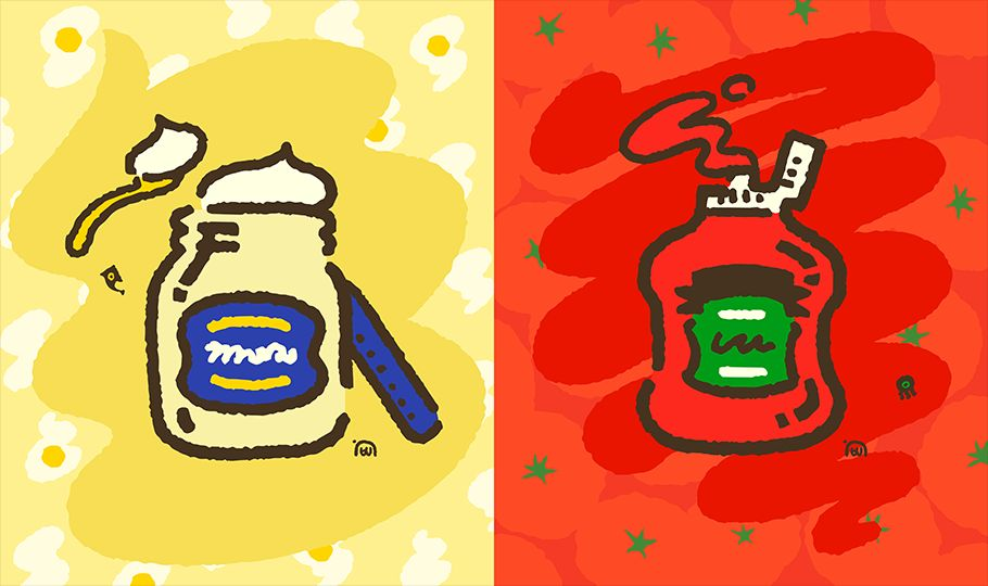Splatoon 2's Next Splatfest: Mayo Or Ketchup?