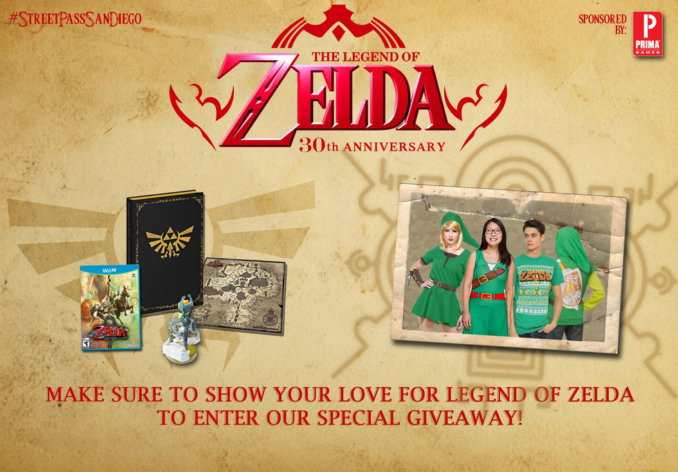 The Legend of Zelda 30th Anniversary Giveaway