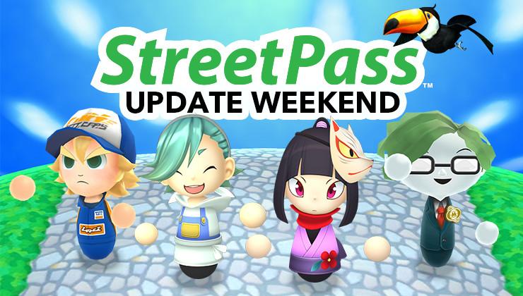 StreetPass Update Weekend