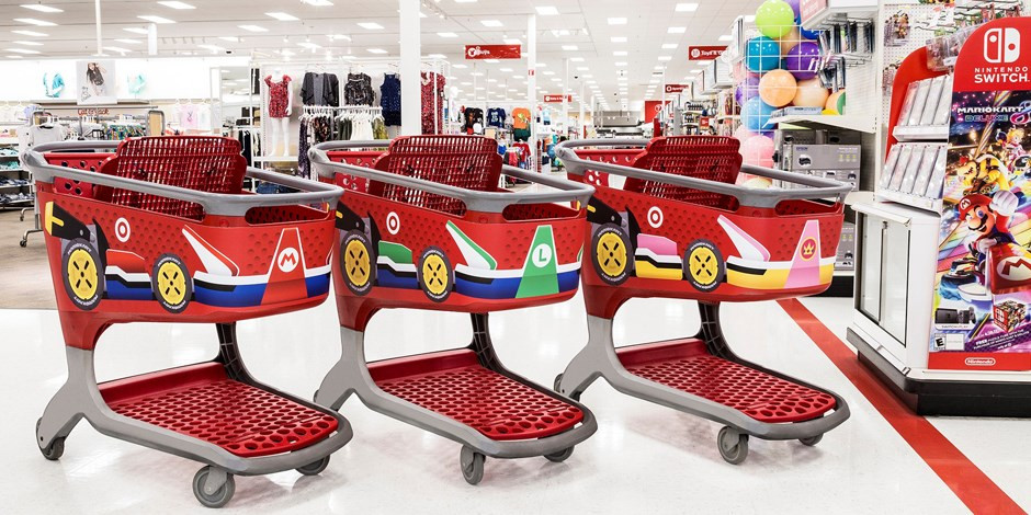 Target Gets A Makeover For Mario Kart 8 Deluxe