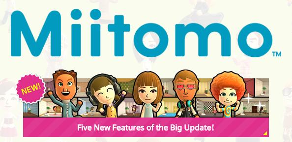 Miitomo Just Got A Huge Update