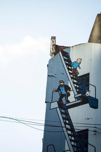 Tintin in the Sky