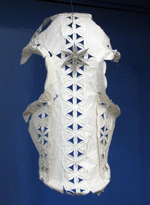 Untitled (horse head armor)