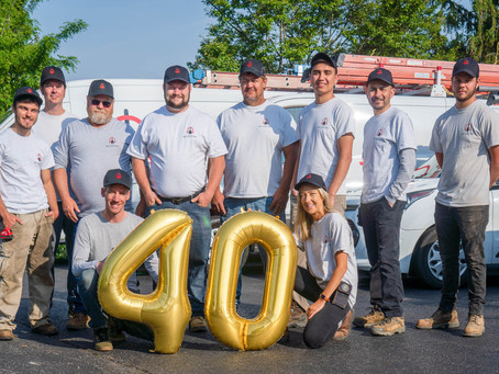 Proudly Celebrating 40 Years in Business!