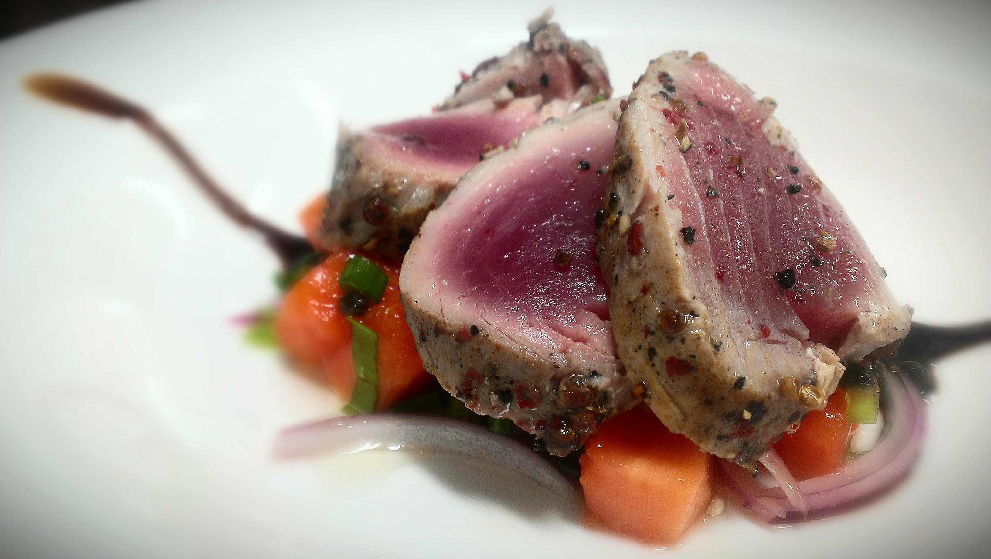 Tuna filet