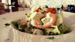 prawn avocado salad