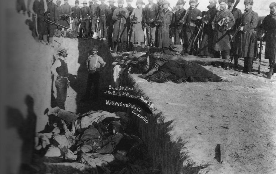 Timestream: Wounded Knee Massacre