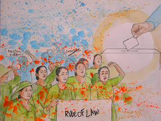 """Beyond the Coup in Myanmar """"In Accordance with the Law"""""""