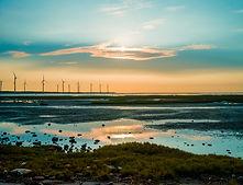 Sillouette di Wind Turbine
