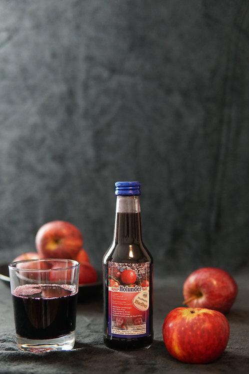 Apfel-Holunder-Saft 0,25L