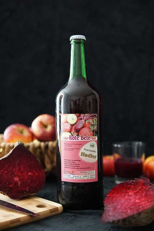 Apfel-Rote Beete-Saft 1L