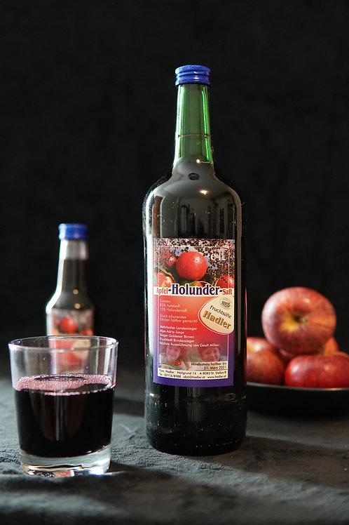 Apfel-Holunder-Saft 1L