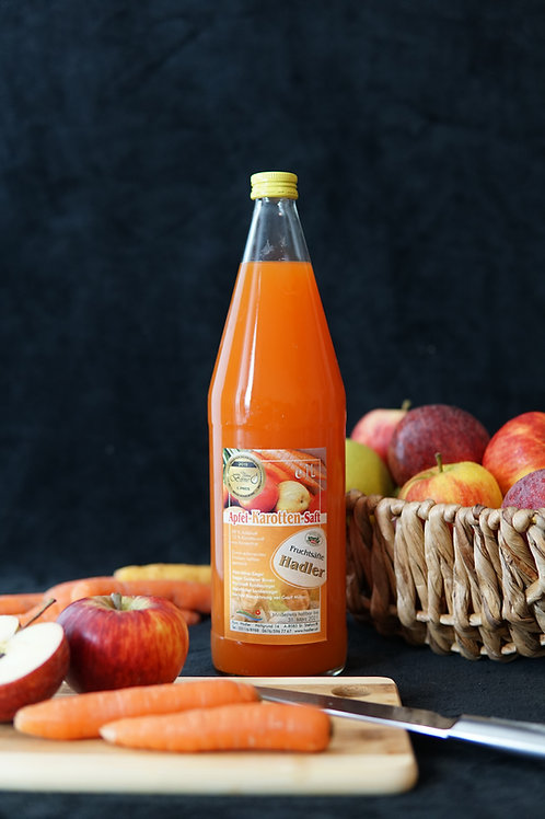 Apfel-Karottensaft 1L