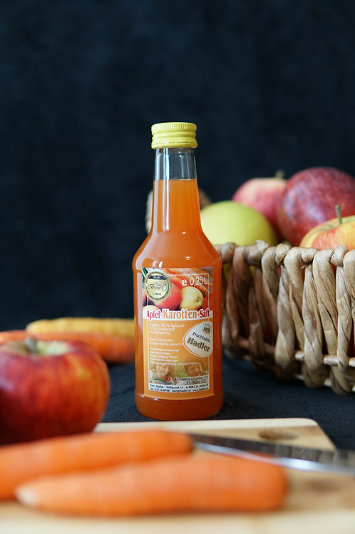 Apfel-Karotten-Saft 0,25L