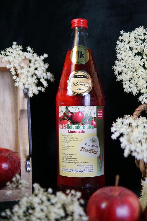 Apfel-Holunderblüten-Limonade 1L