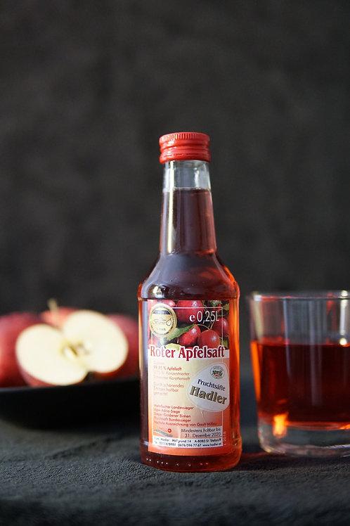 Roter Apfelsaft 0,25L