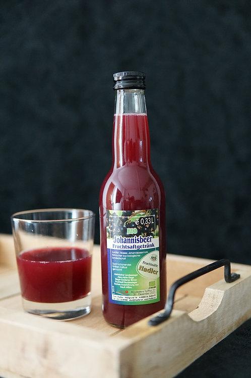 BIO Johannisbeeren - Fruchtsaftgetränk 0,33L
