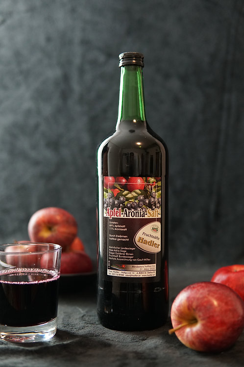 Apfel-Aronia-Saft 1L