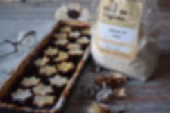 crostata con farina d'orzo mulino viglino