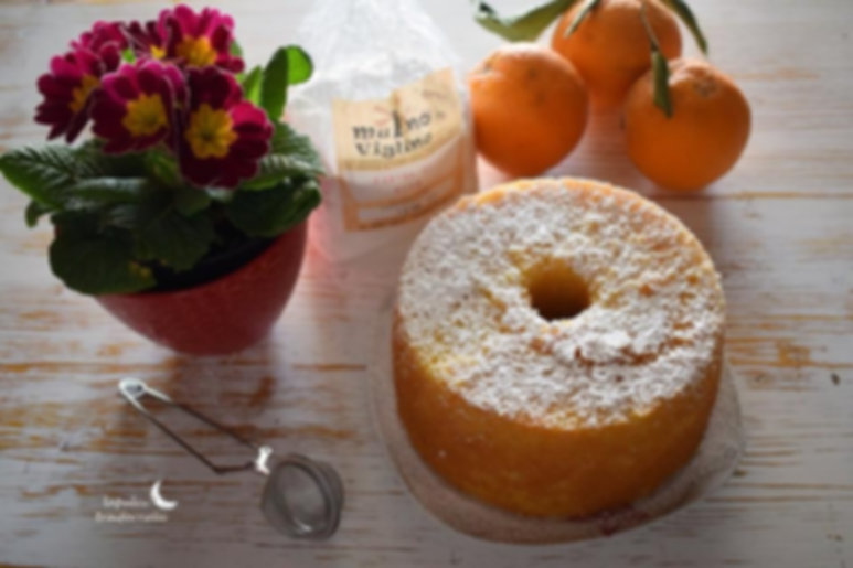 torta fluffosa con farina senza glutine