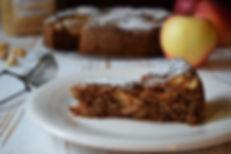 torta di mele con farina di nocciole mulino viglino
