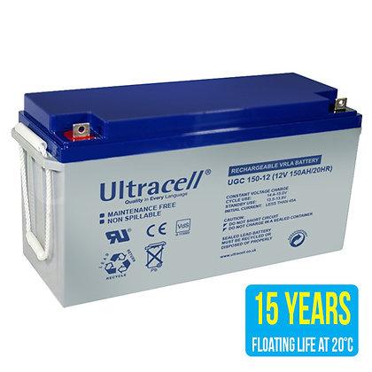 Acumulator cu gel Ultracell UCG150-12