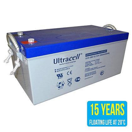 Acumulator cu gel Ultracell UCG250-12