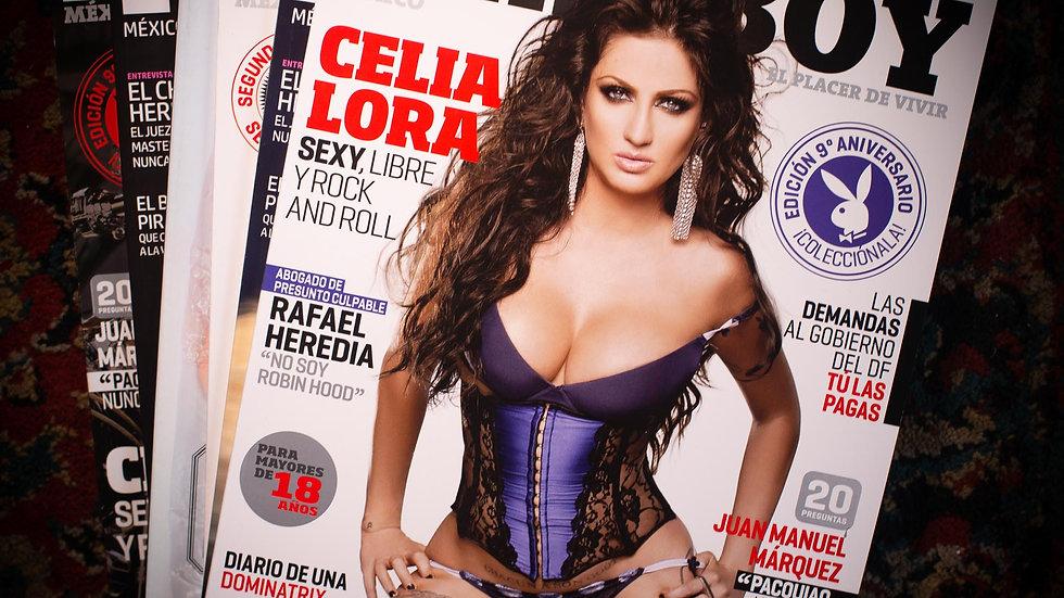2011 Playboy N°108 - 3
