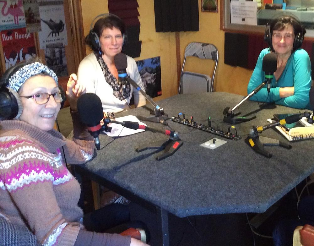 Dans le studio de Radio Pays d'Hérault