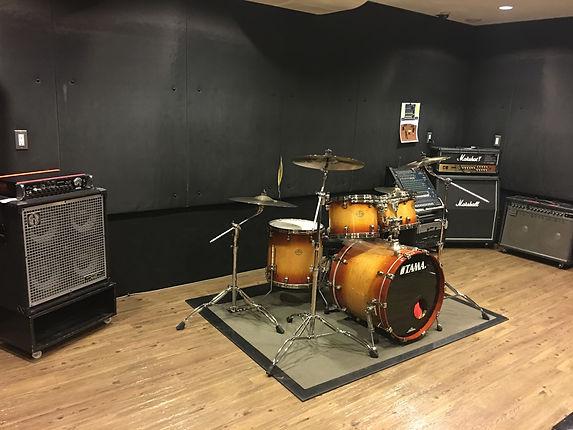 名古屋の音楽スタジオ BLstudio30西大須 202スタジオ 部屋の風景