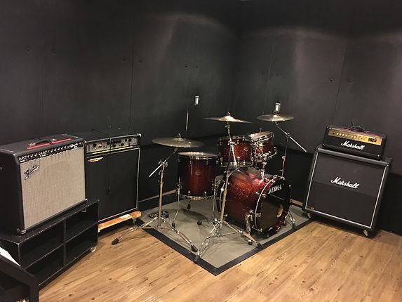 名古屋の音楽スタジオ BLstudio30西大須 304スタジオ 部屋の風景