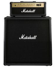 名古屋の音楽スタジオ BLstudio30西大須 ギターアンプ Marshall 1960A+MG100HFX