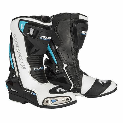 Spada Curve Evo WP Boots White/Blue/Black