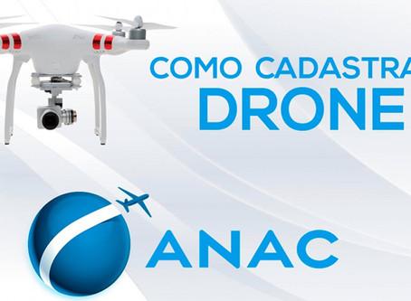 APRENDA COMO CADASTRAR SEU DRONE NA ANAC