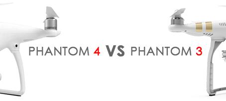 ANALISE COMPLETA: DJI PHANTOM 4 VS PHANTOM 3