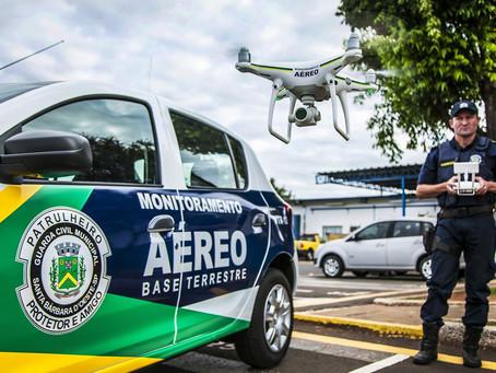 GUARDA MUNICIPAL TERÁ DRONES PARA PREVENÇÃO AMBIENTAL