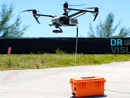 TECNOLOGIA PARA VOOS ILIMITADOS - DRONE VISUAL