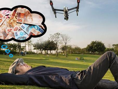 COMO GANHAR DINHEIRO COM DRONES. A TECNOLOGIA ATUAL