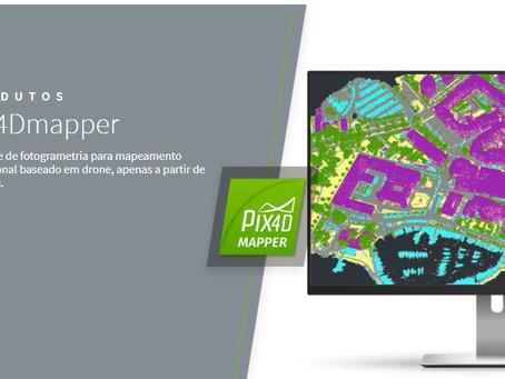 PIX4D E O MAPEAMENTO AÉREO COM DRONES