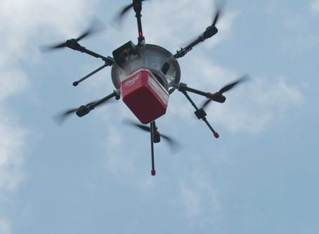 iFOOD ANUNCIA ENTREGA EM DRONES NO BRASIL